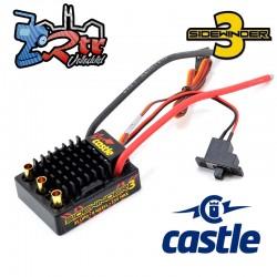 Castle Sidewinder SV-3 12V 2-3S Waterproft Sensorless ESC