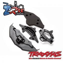 Parachoques delantero soporte y espumas Traxxas TRA9320