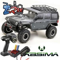 Absima Yukatan Crawler 1/8 4x4 CR1.8 6 Canales Luces RTR Gris Oscuro