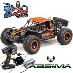 Absima Desert Buggy EP ADB 1.4 1/10 4Wd RTR Escobillas Anaranjado