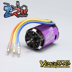 Motor sin escobillas 1/10 Yokomo ZERO-S DRIFT Spec 10.5T Purpura