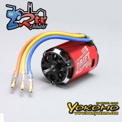 Motor sin escobillas 1/10 Yokomo ZERO-S DRIFT Spec 10.5T Rojo