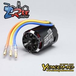 Motor sin escobillas 1/10 Yokomo ZERO-S DRIFT Spec 10.5T Negro