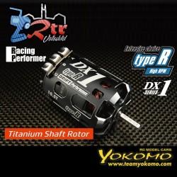 Yokomo Racing Performer DX1 Type-R (tipo de alta rotación) (eje de titanio) 10.5T