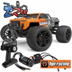 Hpi Savage X Flux 2 1/8 Brushless 4wd Monster Truck RTR