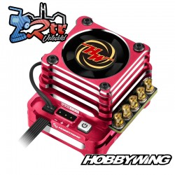 Hobbywing Xerun XD10 Pro Rojo Brushless ESC 160A 2s LiPo