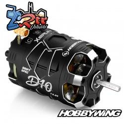 Motor Hobbywing Brushless Xerun D10 Drift 13.5T Sensores Negro