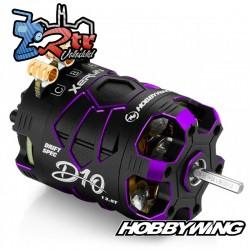 Motor Hobbywing Brushless Xerun D10 Drift 13.5T Sensores Purpura
