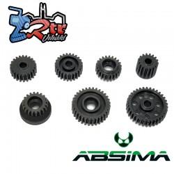 Juego de engranajes de transmisión de acero Absima 1230672