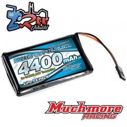Muchmore IMPACT Li-Po Batería 4400mAh / 3.7V 4C para transmisor SANWA M17