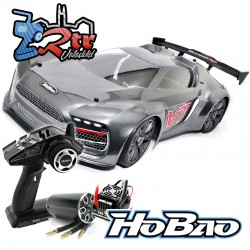 Hobao Hyper VTE On-Road Carretera Brushless 1/8 100A 4s RTR Gris