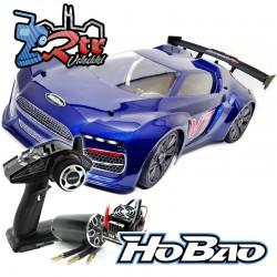 Hobao Hyper VTE On-Road Carretera Brushless 1/8 100A 4s RTR Azul