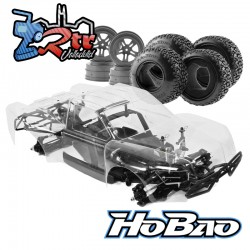 Hobao Hyper 10 Short Course Eléctrico 1/10 Kit 80% Ensamblado