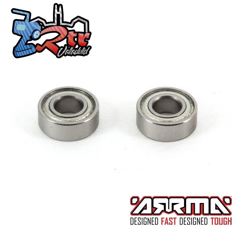 Rodamientos de bola 5x13x4mm Arrma AR610003