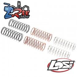 Resortes de choque delanteros (3 pares): Mini-T 2.0 Losi LOS214015