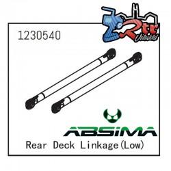 Varillaje de la cubierta trasera baja Absima 1230540