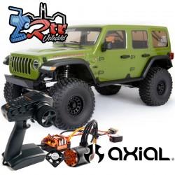 Axial Crawler SCX6 Jeep JLU Wrangle 4Wd Escala 1/6 RTR Verde