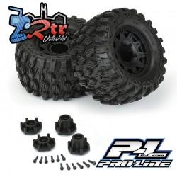 "Ruedas Proline 2.8"" Monster 1/10 Hyrax Blk Raid 12mm PR10190-10"