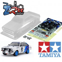 Carrocería Tamiya 1/10 190mm Ford Escort MK.II Rally WB239 Transparente