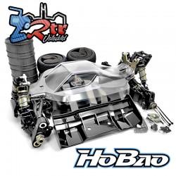 Hobao Hyper VS2 Buggy Eléctrico 1/8 Kit 80% Ensamblado Cuerpo transparente