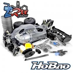 Hobao Hyper VS2 Buggy Nitro 1/8 Kit Cuerpo transparente