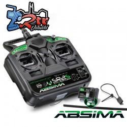 Emisora Absima 2 Canales SR2S 2.4Ghz + Receptor R3FS
