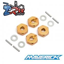 Juego de bujes hexagonales de rueda de 14 mm 4 piezas Maverick MV150233