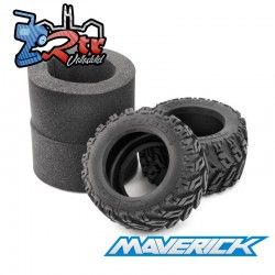 Neumático Tredz de tractor 124x70 / 3.2in / 2 Unidades Maverick MV150180