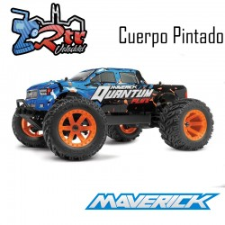 Cuerpo Rosado/Anaranjado Quantum MT 1/10 Monster Truck Maverick MV150173
