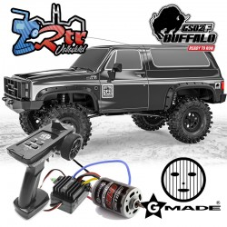 Gmade 1/10 GS02F Buffalo TS Crawler 4wd RTR Negro Perla