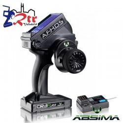 Emisora Adsima CR3P 2,4GHZ 3 Canales + Receptor R3WP