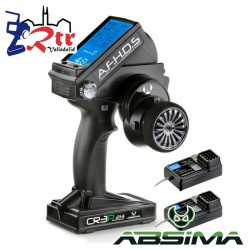 Emisora Adsima CR3P 2,4GHZ 3 Canales + 2 Receptores R3WP