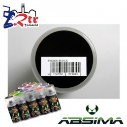 Pintura Absima Lexan Negro con aditivo anti Nitro 150Ml