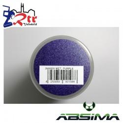 Pintura Absima Lexan Purpura Metalizado con aditivo anti Nitro 150Ml