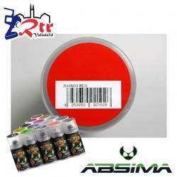 Pintura Absima Lexan Rojo con aditivo anti Nitro 150Ml