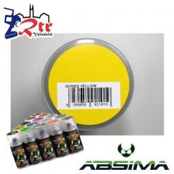 Pintura Absima Lexan Amarillo con aditivo anti Nitro 150Ml