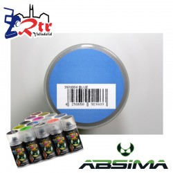 Pintura Absima Lexan Azul con aditivo anti Nitro 150Ml