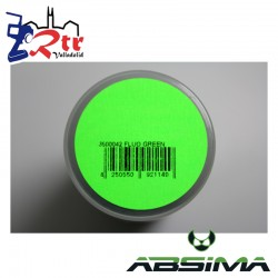 Pintura Absima Lexan Verde Fluorescente con aditivo anti Nitro 150Ml