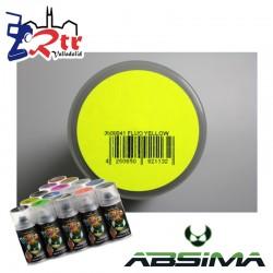Pintura Absima Lexan Amarillo Fluorescente con aditivo anti Nitro 150Ml
