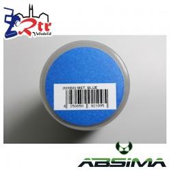 Pintura Absima Lexan Azul Metalizado con aditivo anti Nitro 150Ml
