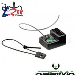 Receptor Absima 6 Canales R6FS SVC 2.4GHz