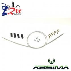 Cuerda de acero para coche capó delantero Absima