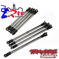 Kit de 8 Tiradores Traxxas TRA5338 TRA5348 TRA5318 TRA5347 Summit 1/10 montados