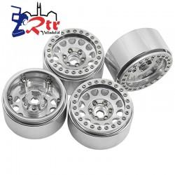 Llantas 1.9 aluminio Crawler beadlock 84gr cada una (4...
