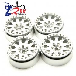 Llantas aluminio Crawler 2.2 beadlock 85gr cada una (4 Unidades)