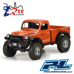Dodge Power Wagon 1946 Cuerpo Transparente PR3499-00