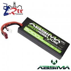 Lipo Absima 2s 5000 Mha 50C Caja dura HardBox 2s t-Plug