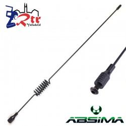 Antena Absima Metálica Crawler 1/10