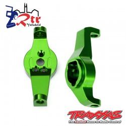 Brazo de dirección cubos en C Aluminio Verde TRA8232G