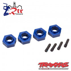 Hexagonos traxxas TRX-4 Azul 12mm TRA8269X